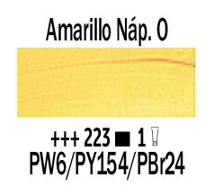 Venta pintura online: Óleo Amarillo Nápoles Osc. nº223 Serie 1