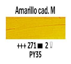 Venta pintura online: Óleo Amarillo Cadmio Medio nº271 Serie 2