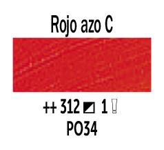 Venta pintura online: Óleo Rojo Azo Claro nº312 Serie 1