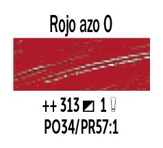 Venta pintura online: Óleo Rojo Azo Osc. nº313 Serie 1