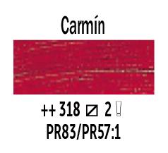 Venta pintura online: Óleo Carmín nº318 Serie 2