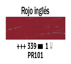 Venta pintura online: Óleo Rojo Ingles nº339 Serie 1