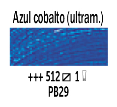 Venta pintura online: Óleo Azul Cobalto (Ultram.) nº512 Serie 1