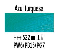 Venta pintura online: Óleo Azul Turquesa nº522 Serie 1