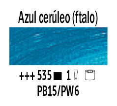Venta pintura online: Óleo Azul Cerúleo Ftalo nº535 Serie 1