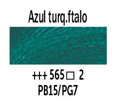 Venta pintura online: Óleo Azul Turquesa Ftalo nº565 Serie 2