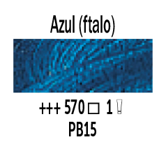 Venta pintura online: Óleo Azul Ftalo nº570 Serie 1