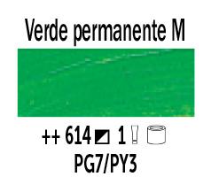 Venta pintura online: Óleo Verde Perm. Medio nº614 Serie 1