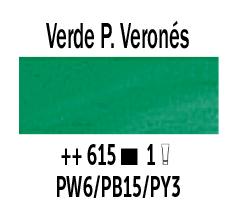 Venta pintura online: Óleo Verde Paolo Verones nº615 Serie 1