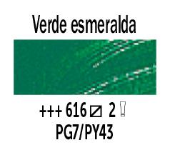 Venta pintura online: Óleo Verde Esmeralda nº616 Serie 2