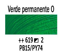 Venta pintura online: Óleo Verde Perm. Oscuro nº619 Serie 2