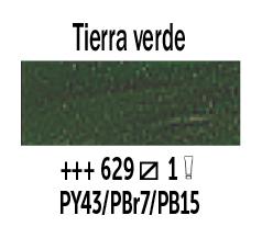 Venta pintura online: Óleo Tierra Verde nº629 Serie 1