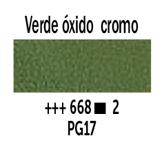 Venta pintura online: Óleo Verde Óxido de Cromo nº668 Serie 2