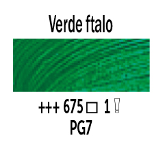 Venta pintura online: Óleo Verde Ftalo nº675 Serie 1