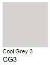 Venta pintura online: Promarker CG3 Cool Grey 3