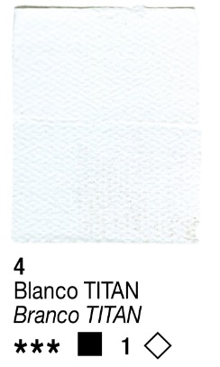 Venta pintura online: Acrílico Blanco Titan nº4 serie 1