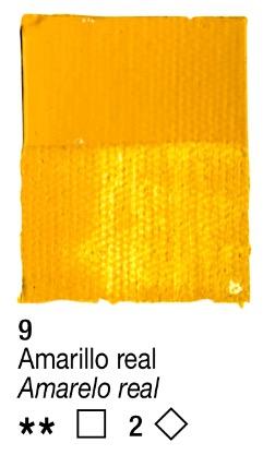Venta pintura online: Acrílico Amarillo Real nº9 serie 2