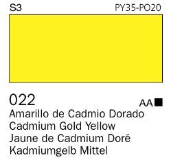 Venta pintura online: Acrílico Goauche Amarillo Dorado 022
