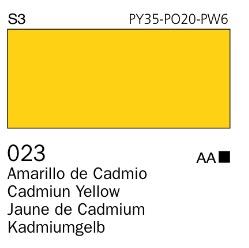 Venta pintura online: Acrílico Goauche Amarillo de Cadmio Tono 023