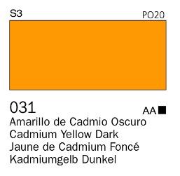 Venta pintura online: Acrílico Goauche  Amarillo Oscuro 031
