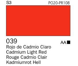 Venta pintura online: Acrílico Goauche Rojo de Cadmio Claro 039