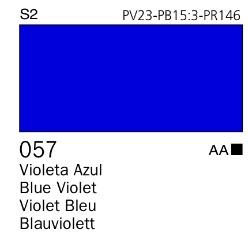 Venta pintura online: Acrílico Goauche Violeta Azul 057