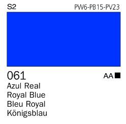 Venta pintura online: Acrílico Goauche Azul Real 061