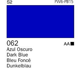 Venta pintura online: Acrílico Goauche Azul Oscuro 062