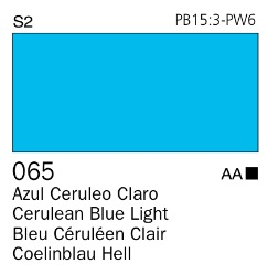 Venta pintura online: Acrílico Goauche Azul Cerúleo Claro 065
