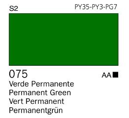 Venta pintura online: Acrílico Goauche Verde Permanente 075