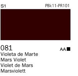 Venta pintura online: Acrílico Goauche Violeta de Marte 081