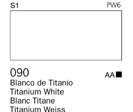 Venta pintura online: Acrílico Goauche Blanco de Titanio 090