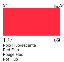 Venta pintura online: Acrílico Goauche Rojo Fluorescente 127