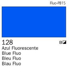 Venta pintura online: Acrílico Goauche Azul Fluorescente 128