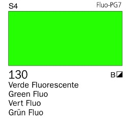Venta pintura online: Acrílico Goauche Verde Fluorescente 130