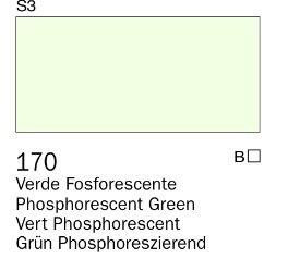 Venta pintura online: Acrílico Goauche Verde Fosforescente 170