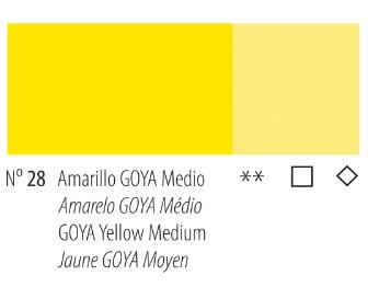 Venta pintura online: Acrílico Titan Goya Amarillo Goya medio nº28