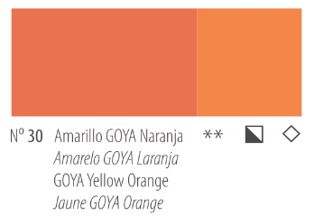 Venta pintura online: Acrílico Titan Goya Amarillo Goya naranja nº30