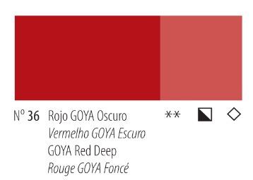 Venta pintura online: Acrílico Titan Goya Rojo Goya  oscuro nº36