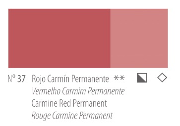 Venta pintura online: Acrílico Titan Goya Rojo carmín permanente nº37