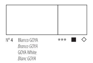 Venta pintura online: Acrílico Titan Goya Blanco nº4