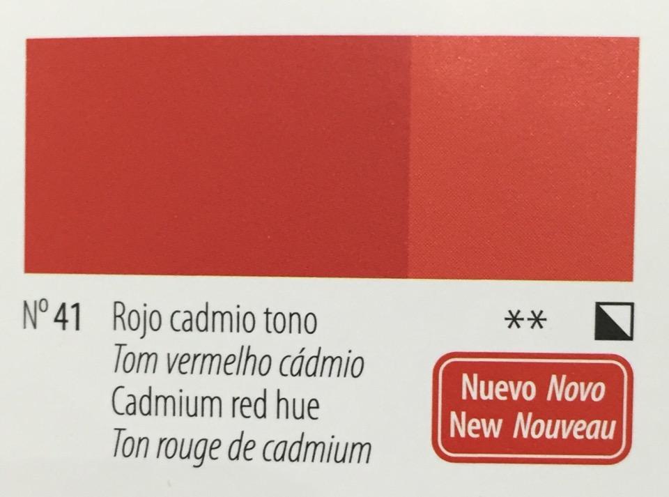 Venta pintura online: Acrílico Titan Goya Rojo Cadmio tono nº41