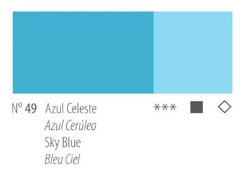 Venta pintura online: Acrílico Titan Goya Azul celeste nº49