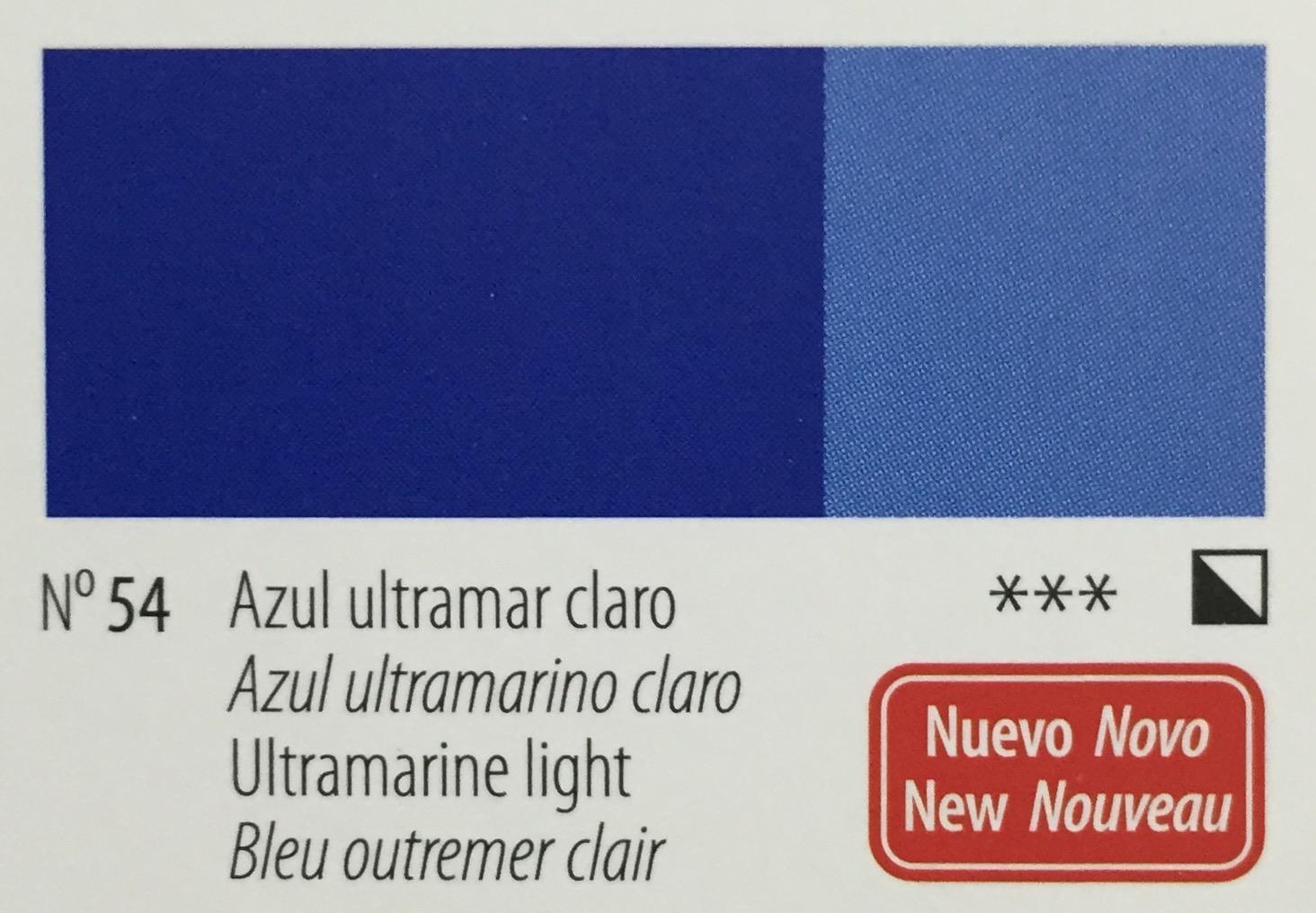 Venta pintura online: Acrilico Titan Goya Azul ultramar claro nº54