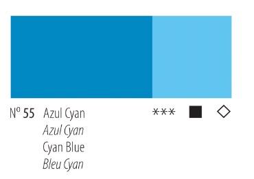 Venta pintura online: Acrílico Titan Goya Azul cyan nº55