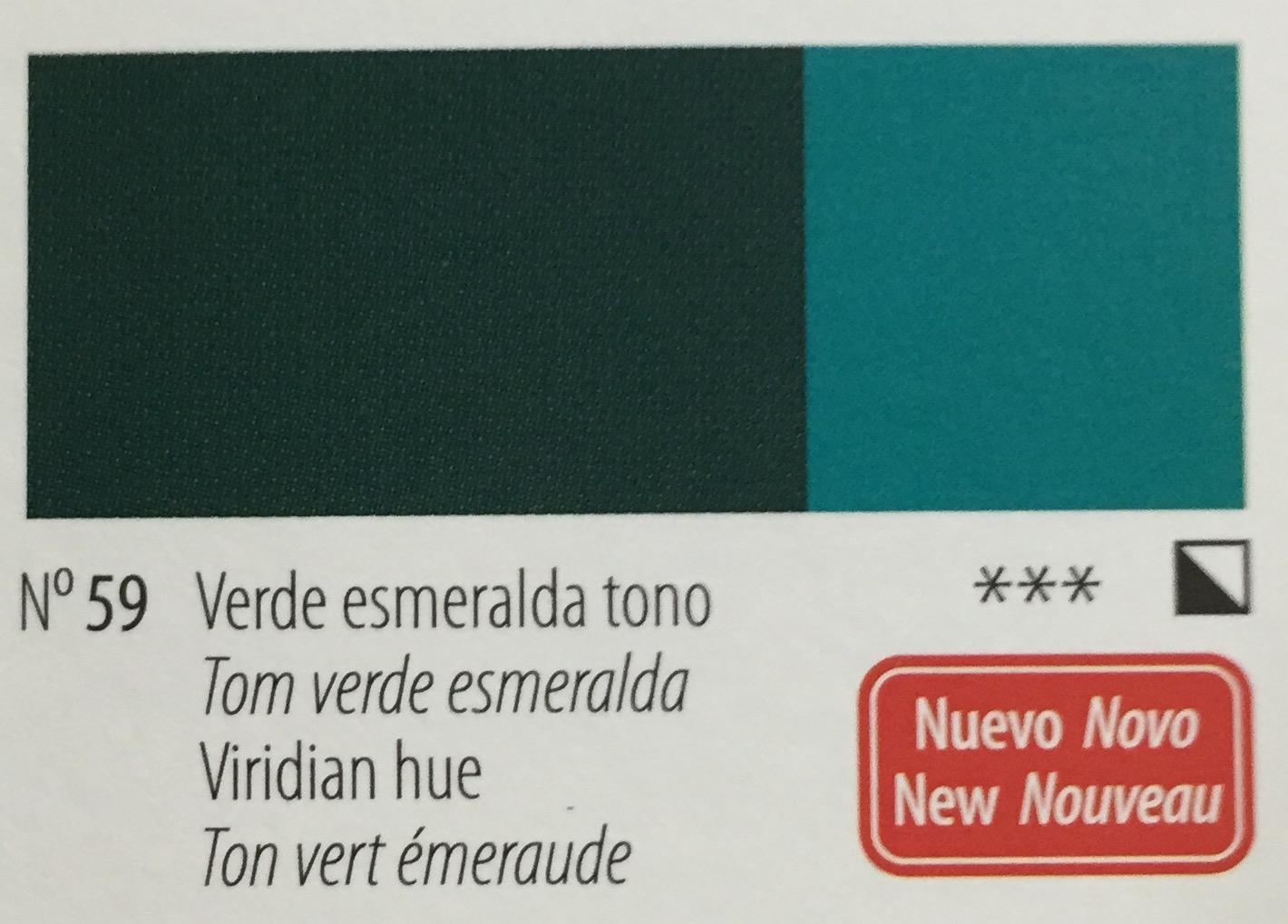 Venta pintura online: Acrílico Titan Goya Verde esmeralda tono nº59