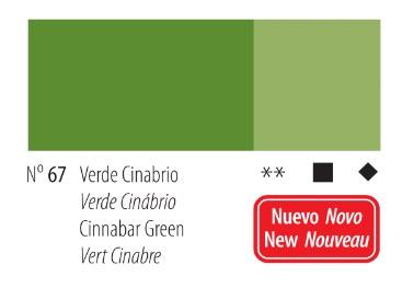 Venta pintura online: Acrilico Titan Goya Verde cinabrio nº67