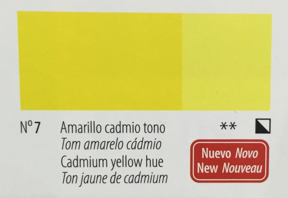 Venta pintura online: Acrilico Titan Goya Amarillo Cadmio tono nº7