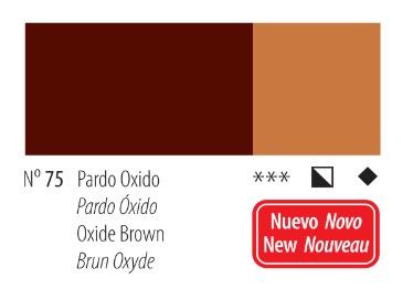 Venta pintura online: Acrílico Titan Goya Pardo óxido nº75