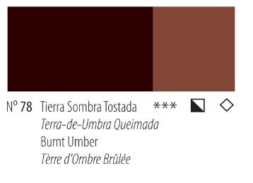 Venta pintura online: Acrílico Titan Goya Tierra sombra tostada nº78